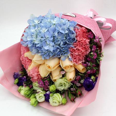 订花服务-一吻天荒