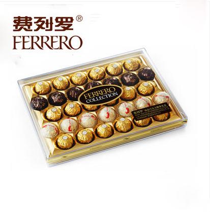 预订鲜花-费列罗三色球巧克力礼盒