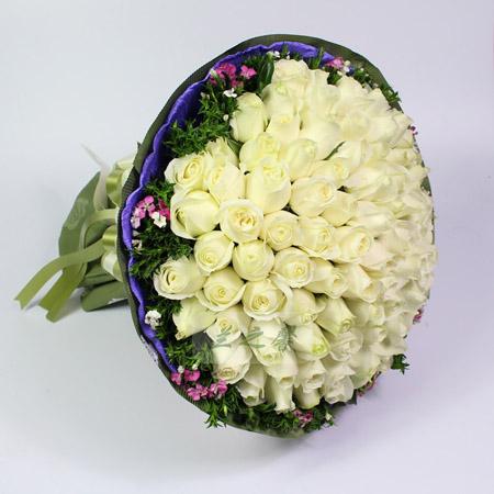 鲜花快递网-纯纯的爱
