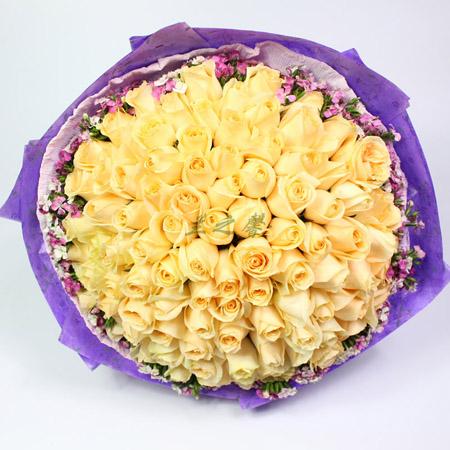 鲜花订购-粉色之恋