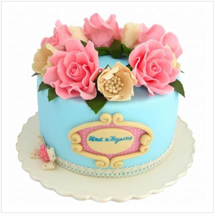 鲜花蛋糕-花香漫天