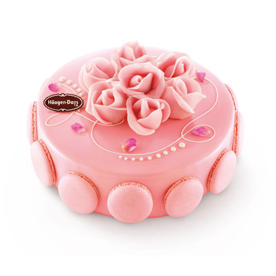 巧克力蛋糕-哈根达斯 冰淇淋蛋糕 玫瑰馨语