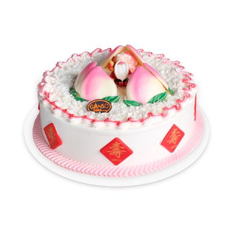 元祖鲜奶蛋糕-元祖蛋糕-蟠桃献颂