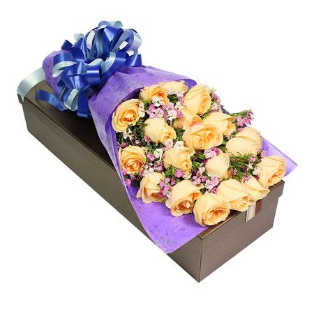 鲜花礼品-清纯丽人