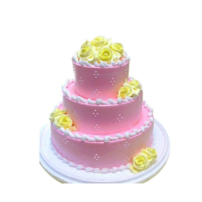 鲜花蛋糕套餐-辉煌喜悦