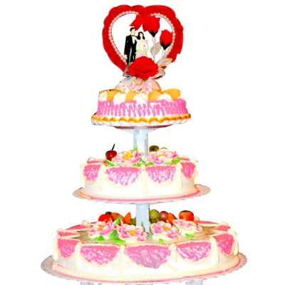 巧克力水果蛋糕-共偕连理