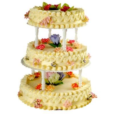鲜花蛋糕速递网-喜结良缘