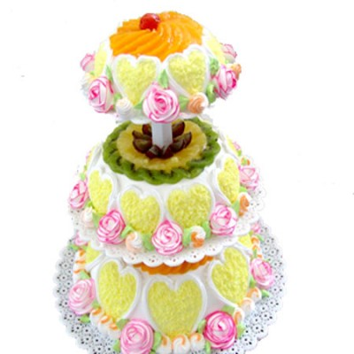 水果蛋糕-春暖花开