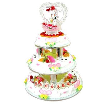 生日蛋糕-水果夹心蛋糕