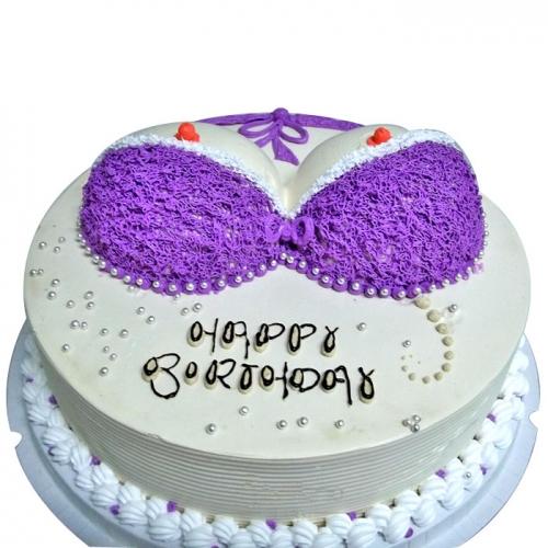 蛋糕订购-紫衣魅惑