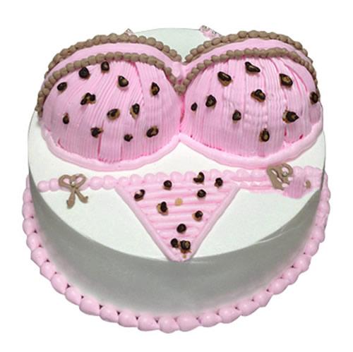 巧克力蛋糕-粉色诱惑