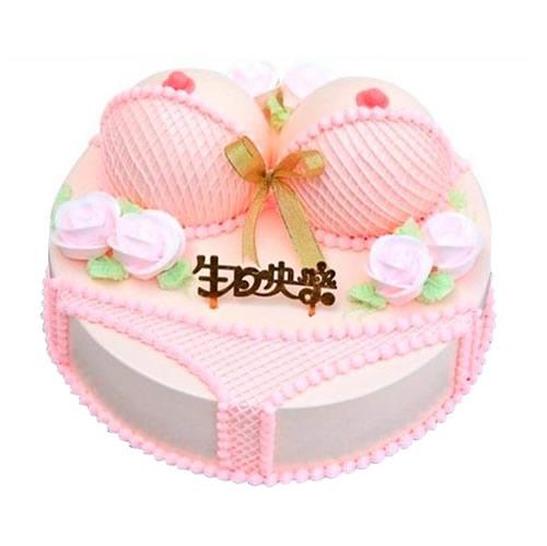 巧克力蛋糕-粉色爱恋