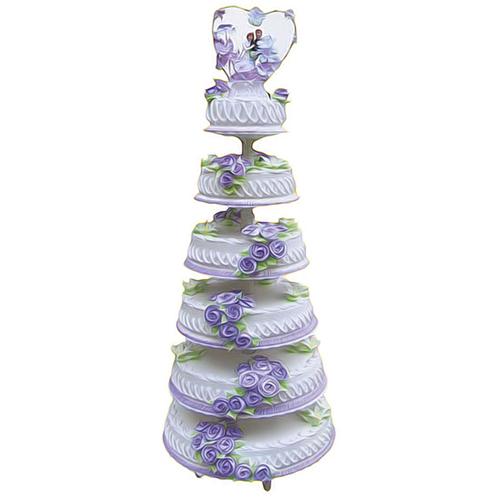 鲜花蛋糕-梦中婚礼