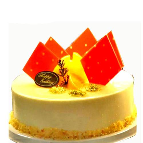 鲜花蛋糕套餐-甜蜜芝士