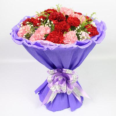 鲜花网站-浓浓母爱