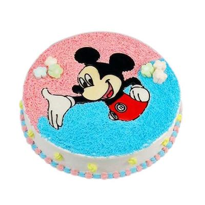 生日鲜花蛋糕-米老鼠