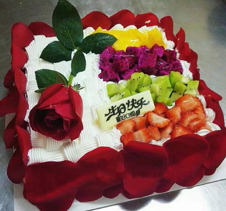 卖蛋糕dangao-如花似锦