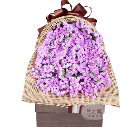 送花-紫色柔情