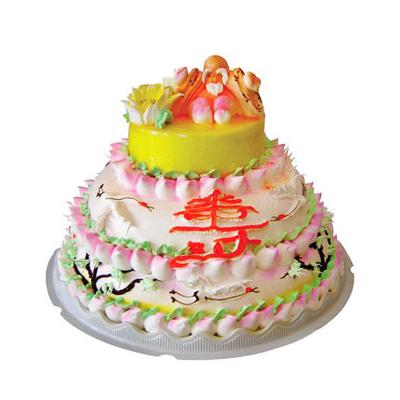 巧克力水果蛋糕-多层祝寿