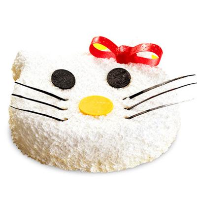 巧克力蛋糕-Katie猫