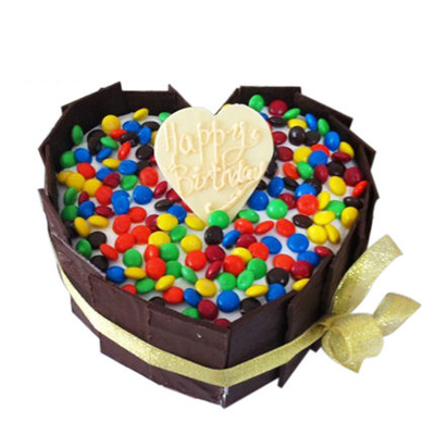 巧克力蛋糕-花好月圆