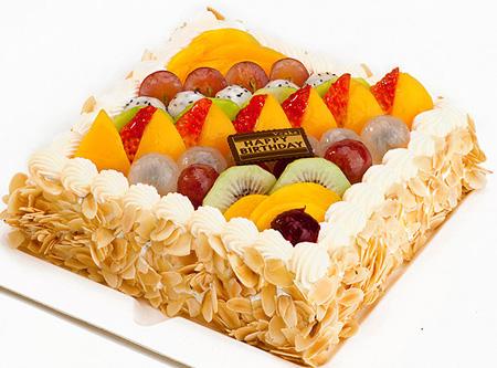 鲜花蛋糕套餐-开心无限
