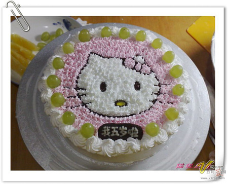 生日蛋糕-凯特猫咪