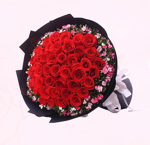 鲜花礼品店-致最爱的你