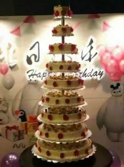 生日鲜花蛋糕-生日快乐