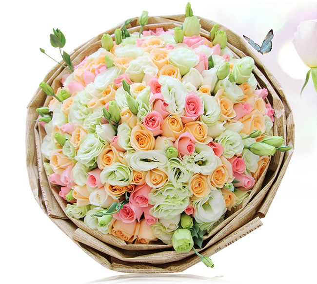 鲜花公司-祝福不变