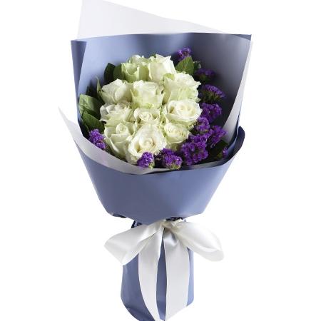 鲜花公司-月色如花