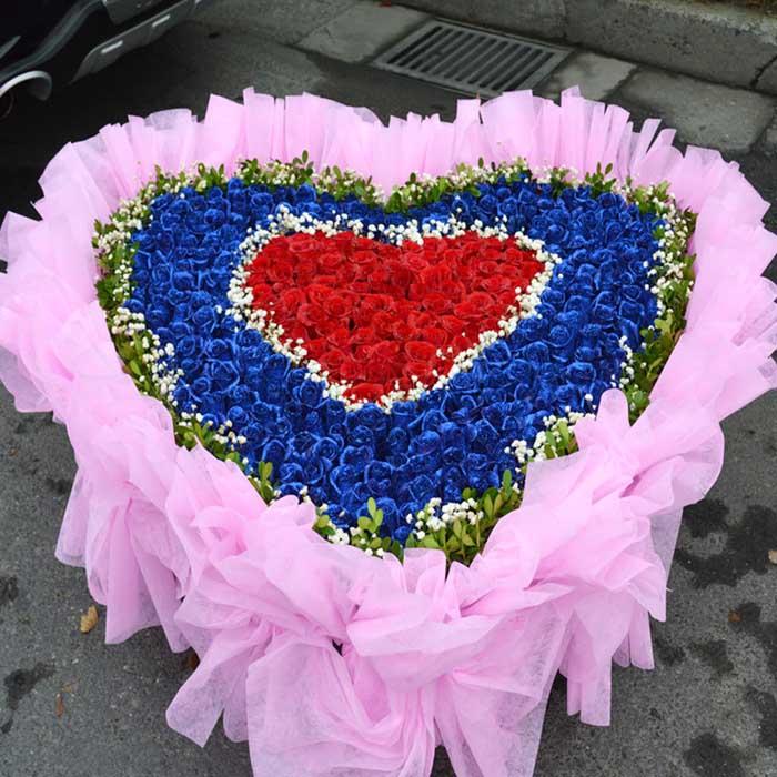预订鲜花-爱你一生