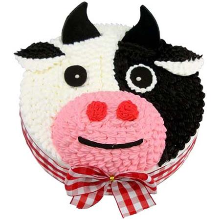买蛋糕-可爱牛牛