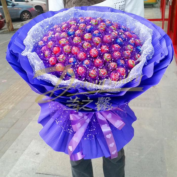 网上花店-棒棒糖