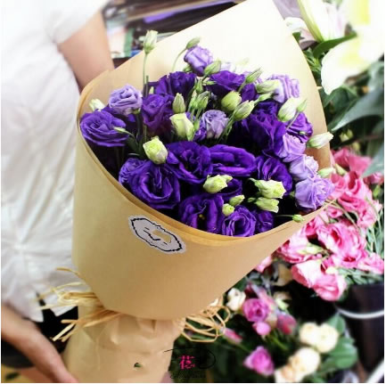 鲜花礼品-说你爱我吧