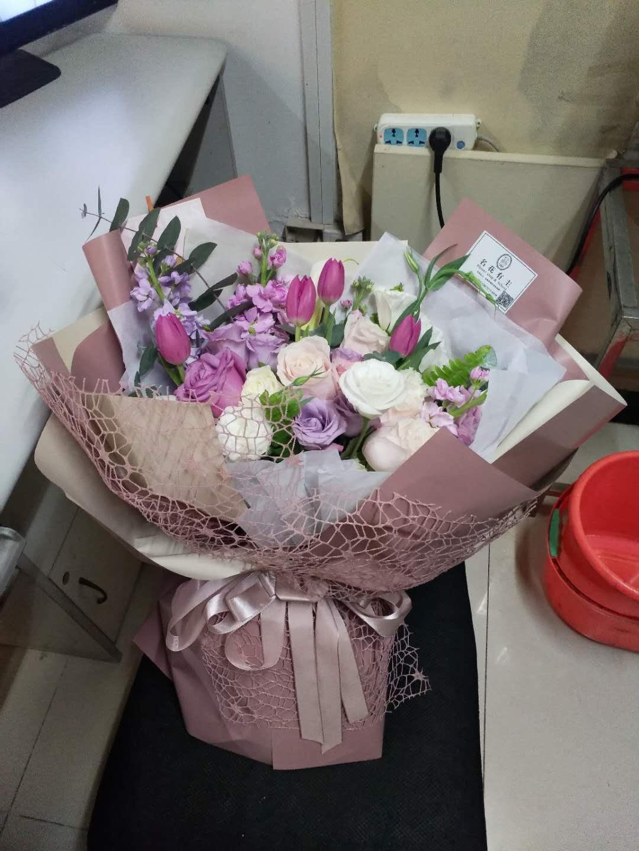 网上花店-紫色之恋