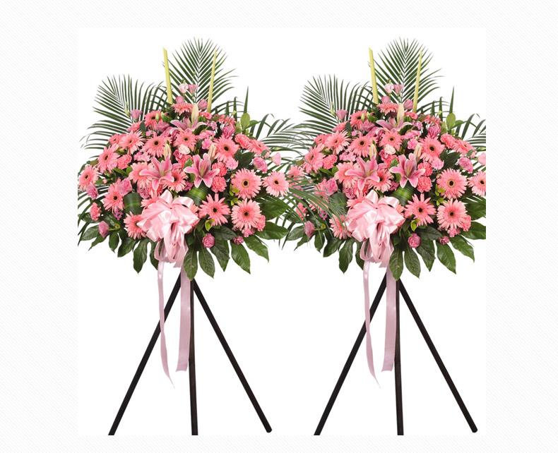 鲜花网-庆典花篮(单个)