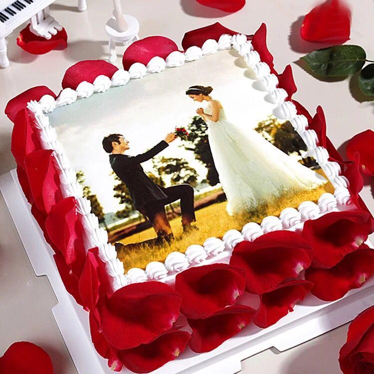 生日鲜花蛋糕-数码蛋糕-相思情侣