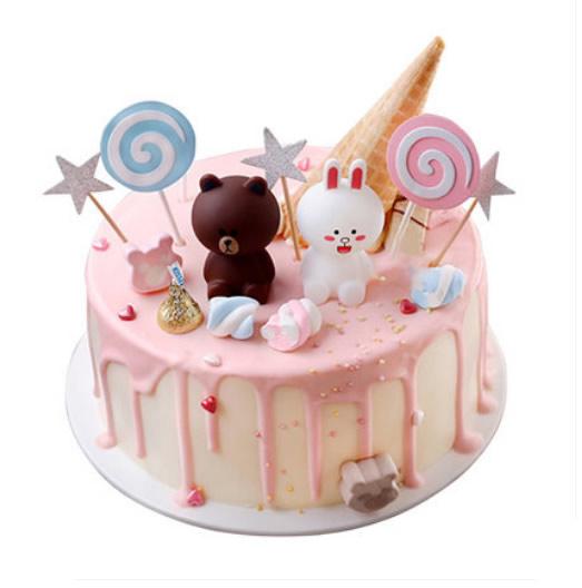 鲜奶蛋糕dangao-布朗熊蛋糕