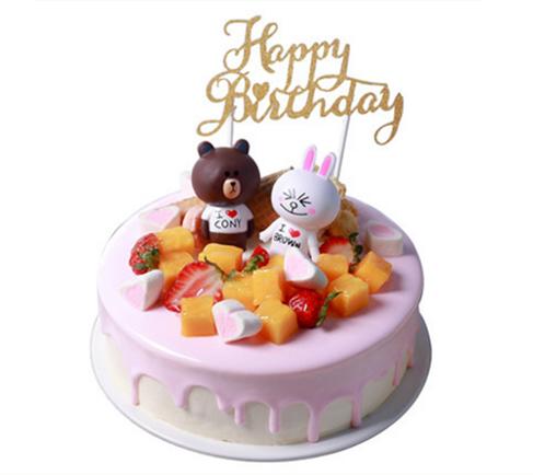 卖蛋糕dangao-布朗熊蛋糕C款