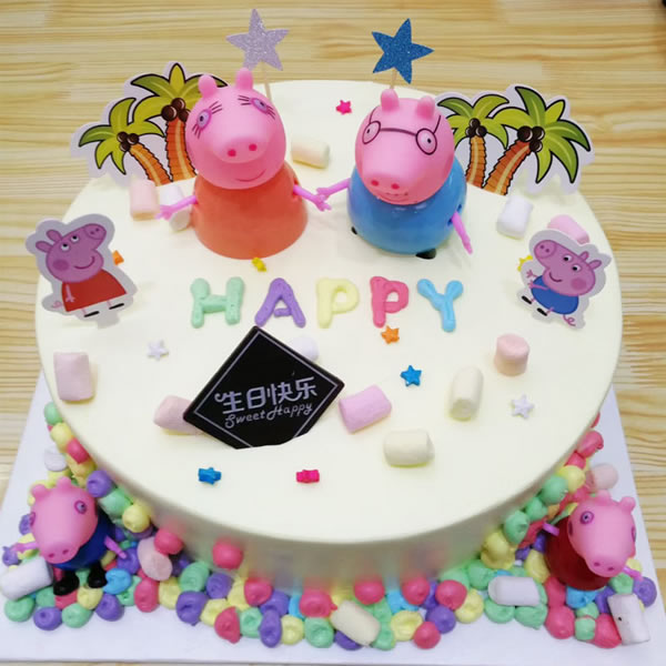 生日蛋糕-小猪佩奇