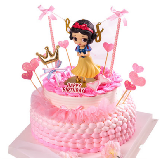 巧克力水果蛋糕-网红蛋糕白雪公主A款
