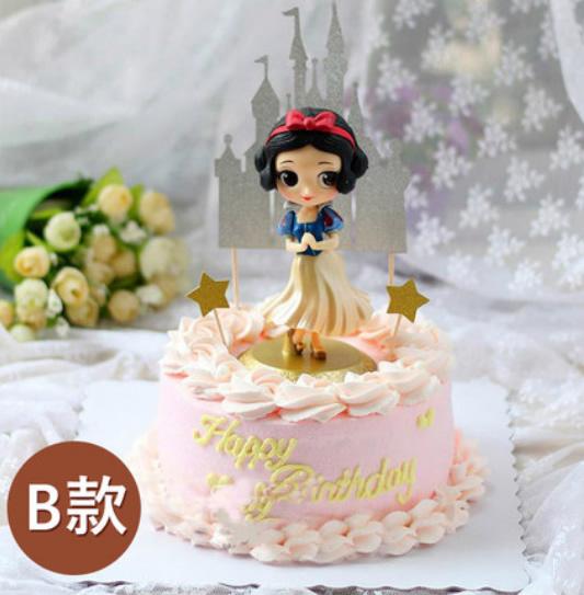 水果蛋糕-网红蛋糕白雪公主B款