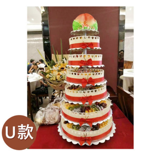 卖蛋糕dangao-7层祝寿蛋糕