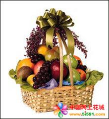 南京水果篮:硕果累累满篮香