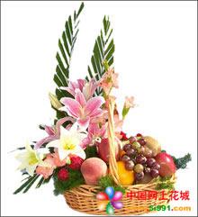 釜山网上订购鲜花,蛋糕,花蓝!