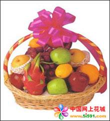 诸暨水果篮:爱在深秋