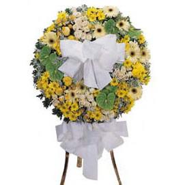 葬礼花圈-无限哀思