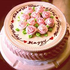 蛋糕:心心相印