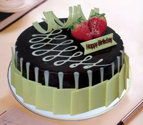 上海生日蛋糕:黑白之恋